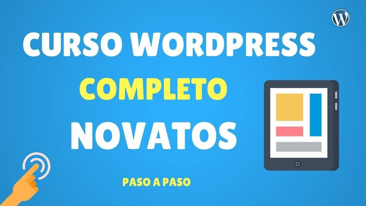Curso Realiza Pagina web Facíl en WordPress
